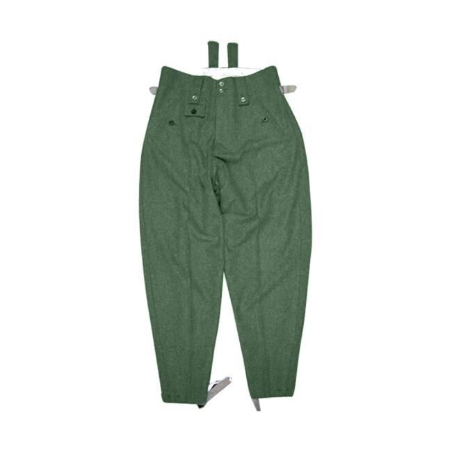 WWII German Heer M43 Fieldgrey wool trousers keilhosen