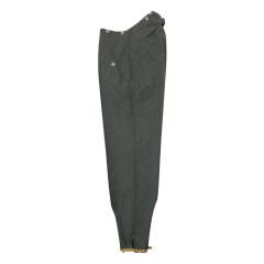 WWII German M36 gebirgsjägers stone grey wool trousers