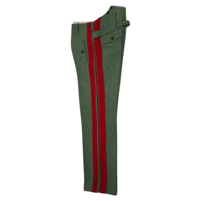 WWII German Heer General field grey wool straight trousers