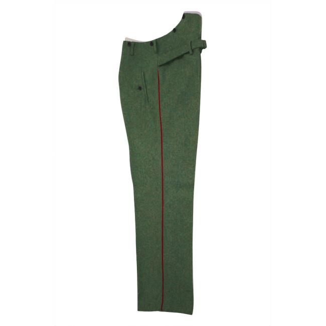 WWII German Heer General waffenrock field grey wool dress trousers