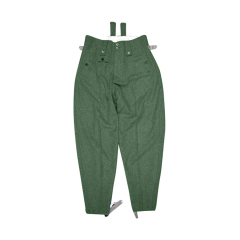 WWII German SS M43 Fieldgery wool trousers keilhosen