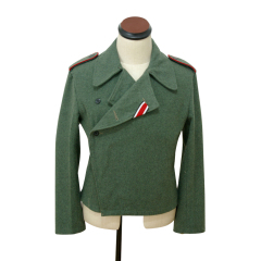 WWII German Heer assault gunner field wool wrap/jacket