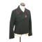 WWII German Heer hot pink collar thread panzer black wool wrap/jacket