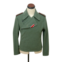 WWII German SS assault gunner field wool wrap/jacket
