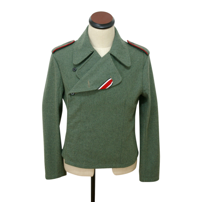 WWII German SS assault gunner field wool wrap/jacket