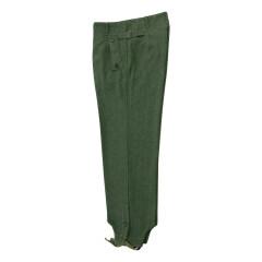 WWII German SS assault gunner field wool trousers