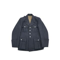 WWII German M35 Luftwaffe blue grey wool tunic