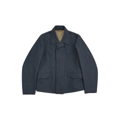 WWII German Luftwaffe flight blue grey wool tunic