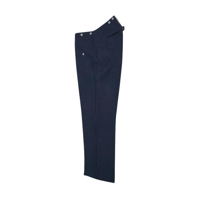 WWII German Kriegsmarine Navy blue Wool Straight Trousers