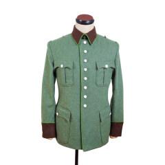 WWII German Ordnungspolizei officer wool jacket dress tunic