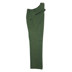 WWII German police officer waffenrock wool dress trousers