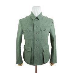 WWII German M42 SS EM fieldgrey wool tunic Feldbluse