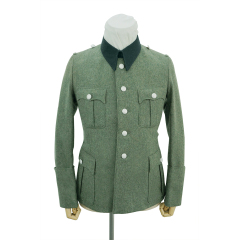 WWII German SS M36 officer wool service tunic Jacket