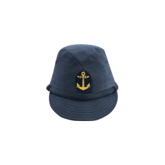 WWII Japanese IJN Navy First Type EM field cap Blue  第二次世界大戦 日本帝国海軍 一種 兵用略帽  青/ブルー 兵用略帽