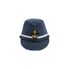 WWII Japanese IJN Navy First Type NCO field cap Blue 第二次世界大戦 日本帝国海軍 一種 下士官略帽 青/ブルー