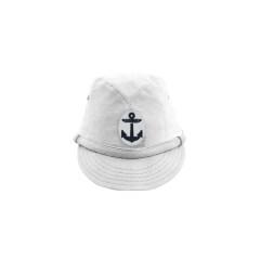 WWII Japanese IJN Navy Second Type EM field cap White 第二次世界大戦 日本帝国海軍 二種 兵用略帽  白/ワイト