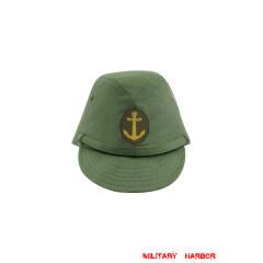 WWII Japanese IJN Navy Third Type EM field cap Green 第二次世界大戦 日本帝国海軍 三種 兵用略帽 緑系