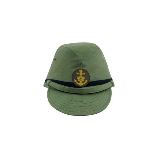 WWII Japanese IJN Navy Third Type NCO field cap Green 第二次世界大戦 日本帝国海軍 三種 下士官略帽 緑系