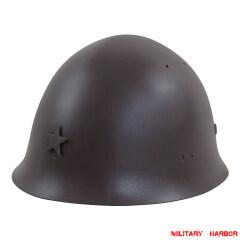 WWII Japanese IJA Combat Steel Type 90 Helmet 第二次世界大戦 日本帝国陸軍 90式九零式 鉄兜 鉄帽 ヘルメット