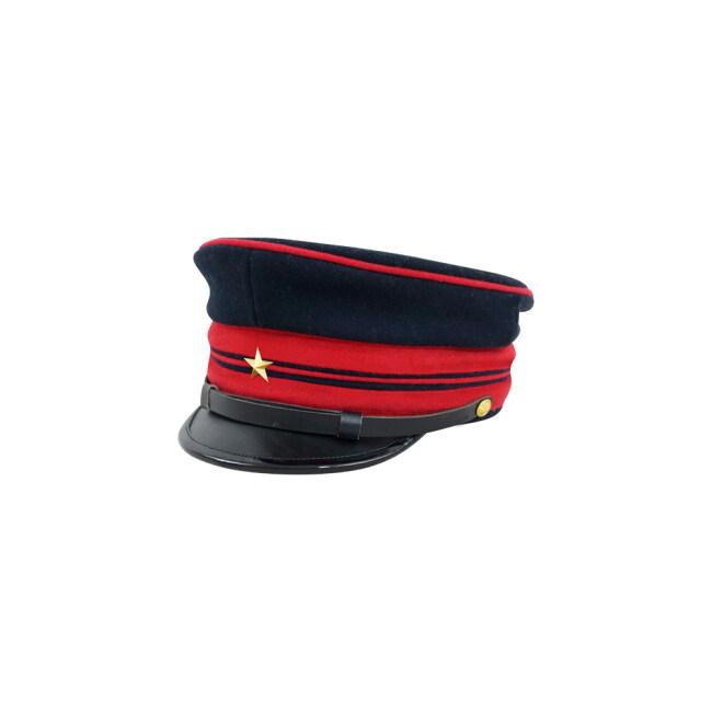M1886 Japanese empire Meiji Second Type visor cap Guard Army Officer 明治19年 日本帝国陸軍 二種 近衛佐官用軍帽制帽