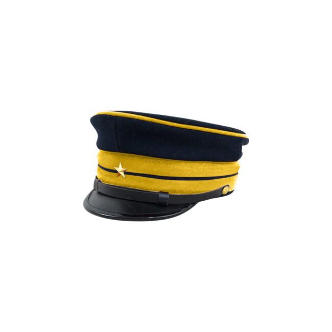 M1886 Japanese empire Meiji Second Type visor cap infantry company officer 明治19年 日本帝国陸軍 二種 步兵尉官用軍帽制帽