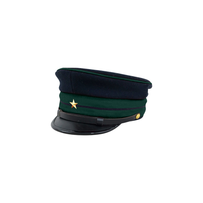 M1886 Japanese empire Meiji Second Type visor cap Medical company officer 明治19年 日本帝国陸軍 二種 軍医用軍帽制帽
