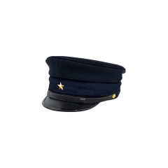 M1886 Japanese empire Meiji Second Type visor cap Military school students 明治19年 日本帝国陸軍 二種 生徒学员用軍帽制帽