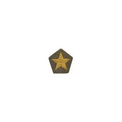 WWII Japanese IJA Army field cap insignia Officer 第二次世界大戦 日本帝国陸軍 士官 将校略帽の帽章