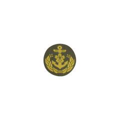 WWII Japanese IJN Navy Third Type field cap insignia Officer BEVO 第二次世界大戦 日本帝国海軍 三種士官略帽の帽章 織る