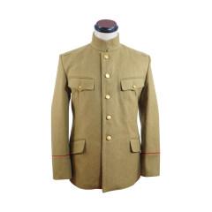 WWII Japanese IJA M1906 Type38 Wool tunic yellowish brown 明治38年 日本帝国陸軍 三八式ジャケット軍衣 ウール黄褐色