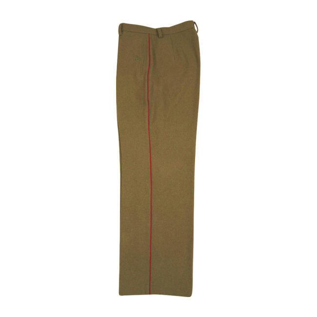 WWII Japanese IJA M1912 Type45 EM wool trousers yellowish brown 第二次世界大戦日本帝国陸軍 四五式 ズボン ウール 黄褐色