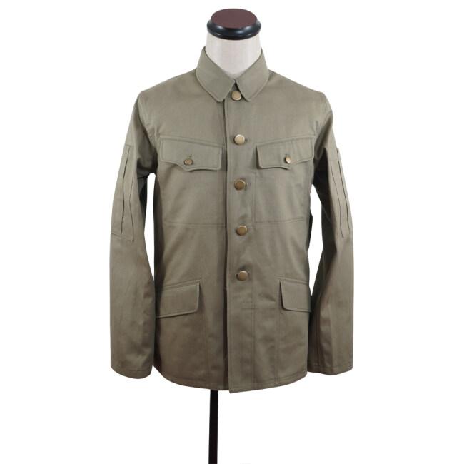 WWII Japanese IJA special paratrooper summer Khaki field tunic 第二次世界大戦日本帝国陸軍 義烈空挺夏用兵用ジャケット軍衣