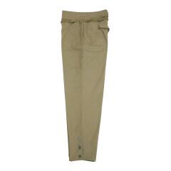 WWII Japanese IJA EM summer Khaki trousers 第二次世界大戦日本帝国陸軍夏用兵用 ズボン Khaki 棉布