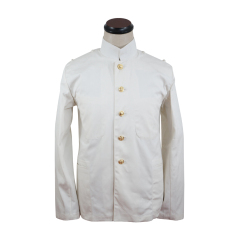 WWII Japanese IJN Navy Second Type tunic/jacket White 第二次世界大戦 日本帝国海軍 二種 ジャケット軍衣 白/ワイト