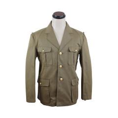 WWII Japanese IJN Navy Marine tunic/jacket Khaki  第二次世界大戦 日本帝国海軍陸戦隊ジャケット軍衣 茶系