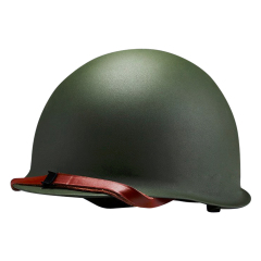 WWII US Military Steel Shell ABS liner M1 Helmet