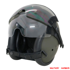 HGU-84P Helicopter Pilot Helmet with lens airsoft ABS replica green