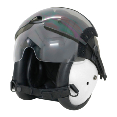 HGU-84P Helicopter Pilot Helmet with lens airsoft ABS replica white