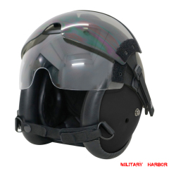 HGU-84P Helicopter Pilot Helmet with lens airsoft ABS replica black