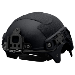 US Seal IBH Tactical helmet with NVG Mount ABS for airsoft black