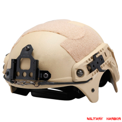 US Seal IBH Tactical helmet with NVG Mount ABS for airsoft sand
