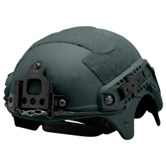 US Seal IBH Tactical helmet with NVG Mount ABS for airsoft green