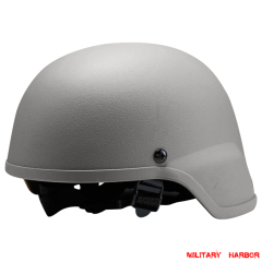 Military Army MICH2000 Helmet ABS for airsoft grey