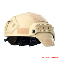 Military Army MICH2000 Tactical Helmet ABS for airsoft sand
