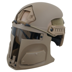 Desert Raider Bounty Hunter Helmet Mask for Ops-Core FAST (mask only) SAND