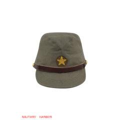 WWII Japanese IJA Army EM field cap cotton Khaki 第二次世界大戦 日本帝国陸軍 兵用略帽戦闘帽 棉