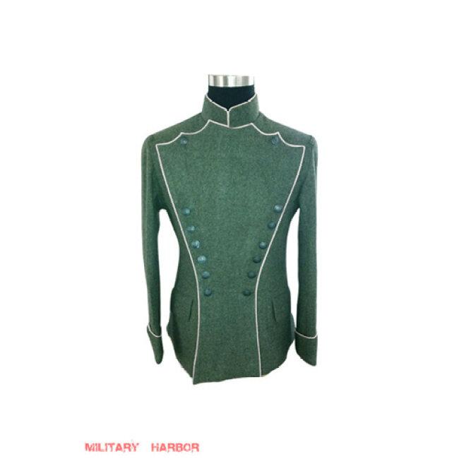 WWI German Empire Uhlan White Pipped wool tunic ULANKA