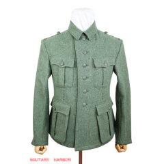 WWII German M41 Heer EM fieldgrey wool tunic Feldbluse