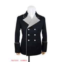 WWII German SS black Gabardine General / leader formal dress