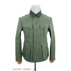 WWII German M34 Heer EM fieldgrey wool tunic Feldbluse